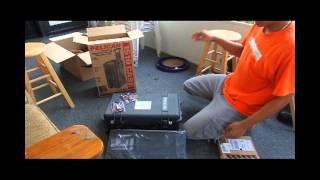 getlinkyoutube.com-Unboxing Pelican 1510 Travel Case