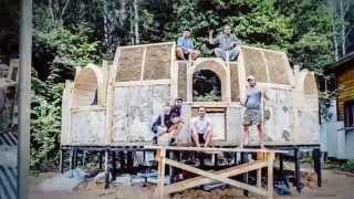 getlinkyoutube.com-Как построить купольный дом из соломы - легко и просто!