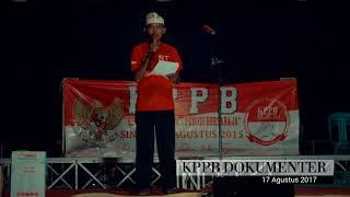 01. Pembukaan Acara Puncak - Bpk. Maman JM Nada #KPPB - 17 Agustus 2017