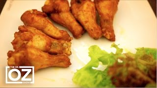 "getlinkyoutube.com-How to Make Healthy ""Fried"" Chicken"