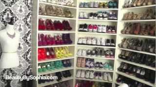 getlinkyoutube.com-MOST REQUESTED: Beauty Closet/Room Tour