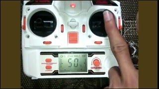 getlinkyoutube.com-Cara Mengoperasikan Remot Drone MJX X101