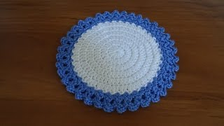 getlinkyoutube.com-Crochet a teapot coaster