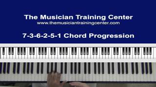 How to Play A 7-3-6-2-5-1 Chord Progression