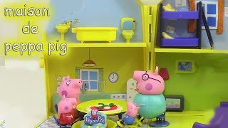 getlinkyoutube.com-Maison de Peppa Pig Playhouse Jouet Pâte à modeler Peppa Cochon