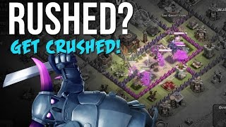 getlinkyoutube.com-RUSHED?  GET CRUSHED! |   Funny Clash of Clans Moments