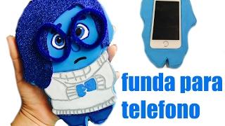 getlinkyoutube.com-DIY funda de foami para teléfono - tristeza de intensamente ❤️❤️❤️