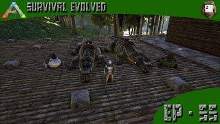 getlinkyoutube.com-ARK: Survival Evolved - Swamp Tames! - Series Z - EP-55