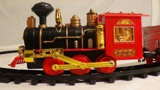getlinkyoutube.com-Remote Control Toy Trains Video for Children