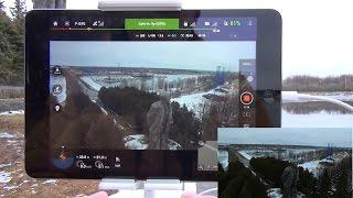 getlinkyoutube.com-Квадрокоптер DJI Phantom 3 Professional ... POI mode и полет по точкам