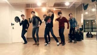 getlinkyoutube.com-Boyfriend - I Yah mirrored Dance Practice