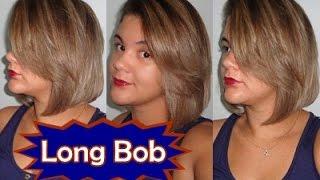 getlinkyoutube.com-Cortando o Cabelo Em Casa ★ Corte Long Bob