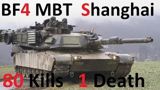 BF4 Pro Tank Gameplay (80-1) | Shanghai: M1A2 | Tonk2Stronk - Commentary | Conquest Large HD