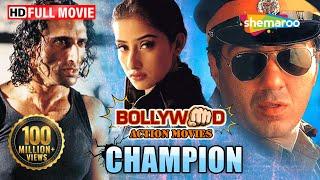 Champion {HD} - Sunny Deol - Manisha Koirala - Superhit Hindi Movie - (With Eng Subtitles) width=