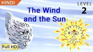 "getlinkyoutube.com-The Wind and the Sun: Learn Hindi with subtitles - Story for Children ""BookBox.com"""