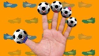 getlinkyoutube.com-Football Finger Family | Soccer | Nursery Rhymes For Kids