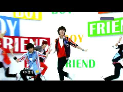 [HD] Boyfriend by Boyfriend LIVE @ Music Core (Debut Stage) May 28,2011