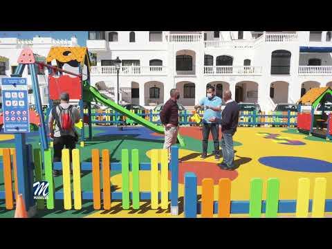 Inauguración del parque infantil del Puerto de la Duquesa