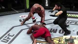UFC - Daniel Cormier vs Jon Jones   GUARD THEM RIBS!   UFC EA Sports 2015