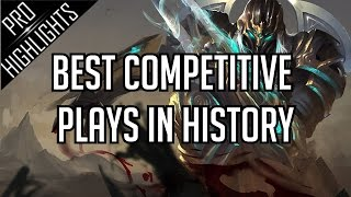 getlinkyoutube.com-Best Competitive Plays in History | 25 Min Edition !