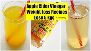 getlinkyoutube.com-Apple Cider Vinegar For Weight Loss - Lose 5 kgs - Fat Cutter Morning Routine Drink Recipe