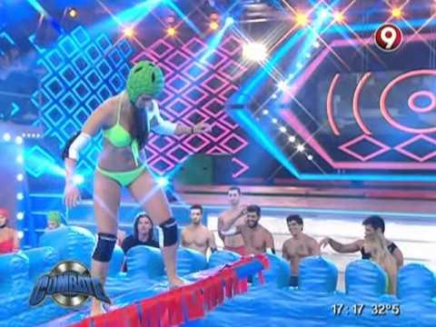 Delfina G Bosco y las chicas de Combate en el surf extremo!