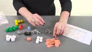 getlinkyoutube.com-Building a molecule with the molecular modeling kit
