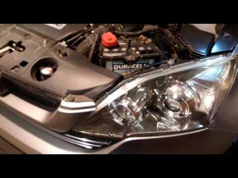 CR-V (2009) Замена лампы ксенон