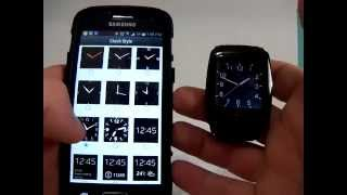 getlinkyoutube.com-HAMSWAN® U18 Android 4.4 Smartwatch (functions review)