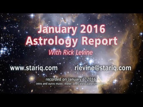 Rick Levine's Astrology Forecast for January 2016
