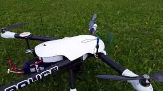 getlinkyoutube.com-Sky Hero Spyder 850 with Feiyu Tech Gimbal Review