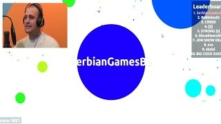 getlinkyoutube.com-PRVI SAM!!! AGAR.IO ep.2 [Srpski Gameplay] ☆ SerbianGamesBL ☆