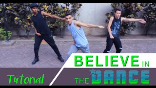 getlinkyoutube.com-Beauty And A Beat - Justin Bieber | Tutorial #BelieveTour Dance