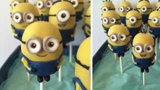 getlinkyoutube.com-Minion Cake Pop Tutorial