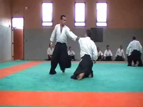 Aikido, pasage 3ème DAN de Marc