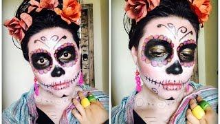 getlinkyoutube.com-Sugar Skull/Catrina Tutorial