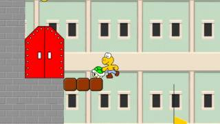getlinkyoutube.com-let's play a koopa's revenge marios castle level 2