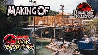 getlinkyoutube.com-Making of Jurassic Park The Ride