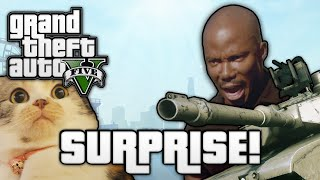 getlinkyoutube.com-GTA V: SURPRISE MOTHERFUCKER! (GTA 5 Online Funny Moments)