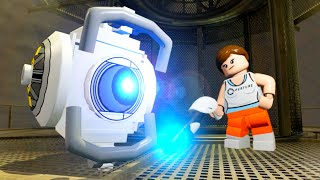 getlinkyoutube.com-LEGO Dimensions A Portal 2 Adventure All Cut Scenes & Ending (Portal 2 Level Pack)