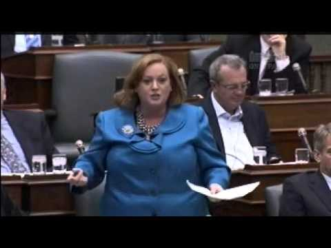 MPP MacLeod Questions the Minister of Finance Over the 2013 Liberal-NDP Budget