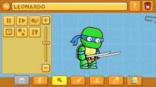 getlinkyoutube.com-Scribblenauts Unlimited Wii U Teenage Mutant Ninja Turtles in the Object Editor 31