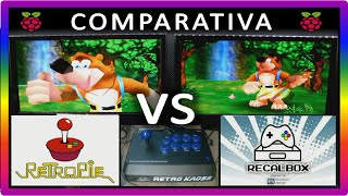 getlinkyoutube.com-RetroPie VS Recalbox COMPARATIVA DIRECTA face-to-face Raspberry Pi 3