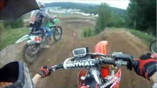 getlinkyoutube.com-GoPro HD helmet cam Motocross track ULVERTON,Qc CRF450R