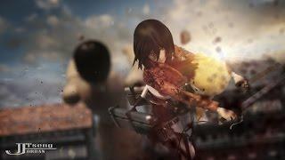 getlinkyoutube.com-Attack on titan stop motion Episode1- Shocked 進撃の巨人 第一集