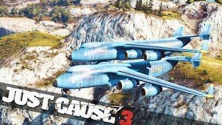 getlinkyoutube.com-JUST CAUSE 3 CARGO PLANE MODDING! :: Just Cause 3 Epic Stunts