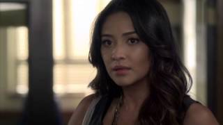 getlinkyoutube.com-Pretty Little Liars - 3x14 - Hanna + Caleb talk about Mona; Spencer sees Mona cosying up to Jason