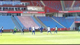 Trabzonspor  maç öncesi ısınıyor!