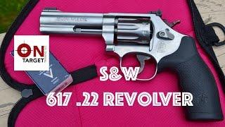 getlinkyoutube.com-S&W 617 22 Revolver - Table Top