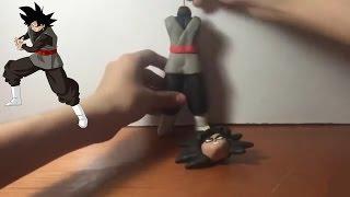 getlinkyoutube.com-Como Hacer a Black Goku de Plastilina
